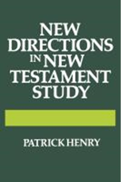 New Directions in New Testament Study
