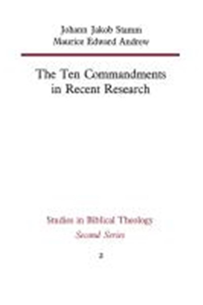 Ten Commandments in Recent Research