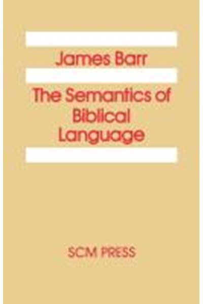 Semantics of Biblical Language