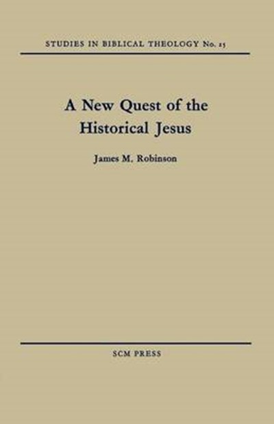 New Quest of the Historical Jesus